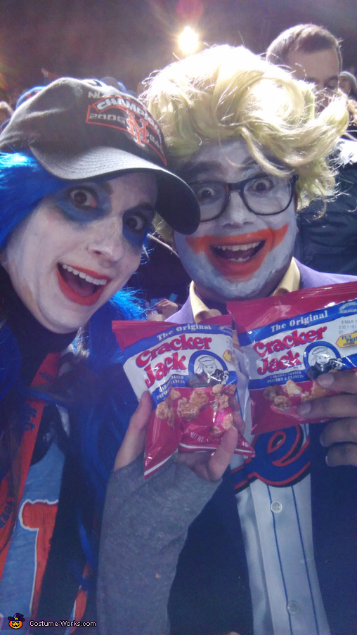 Joker & Harley Quinn as Mets Fans Homemade Costume