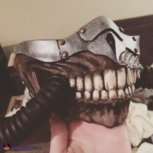 Mask Detail, Immortan Joe Costume