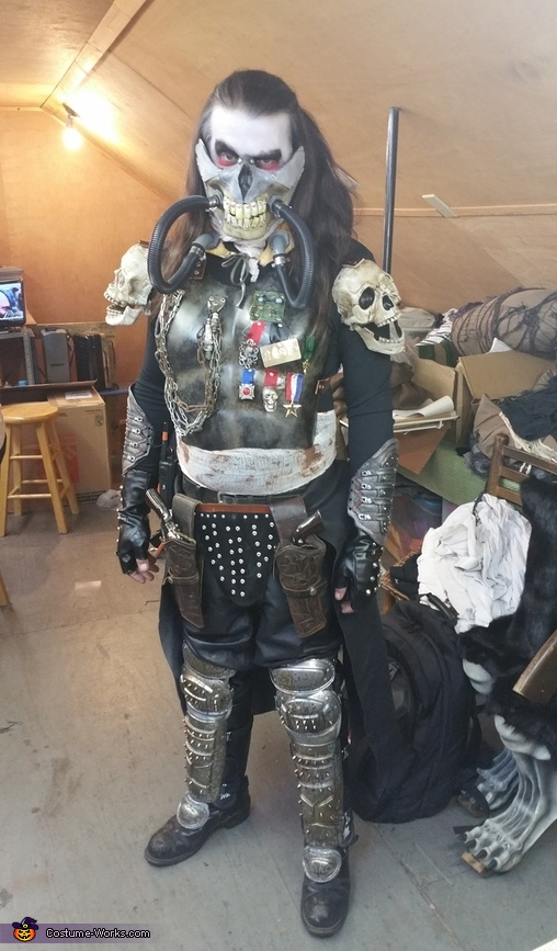 Mad Max Fury Road Immortan Joe Costume