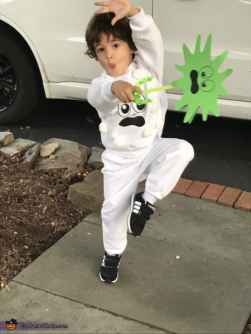 Fighting the germs!, Immune System Costume