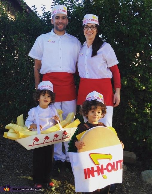 IN-N-OUT Costume