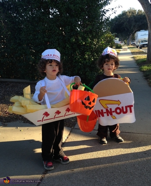 In-N-Out Family Homemade Costume