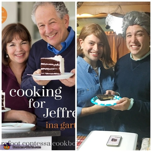 Cooking for Jeffrey, Ina & Jeffrey Costume