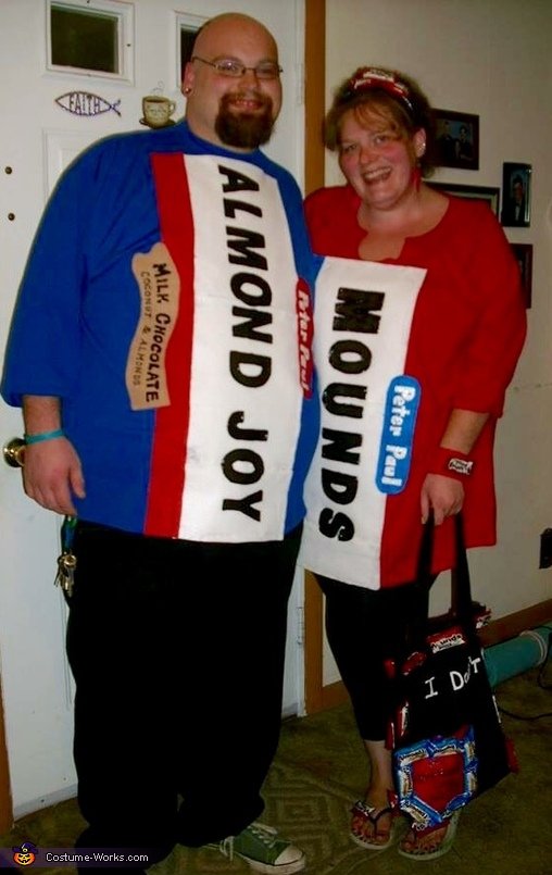 Inappropriate Candy Costume