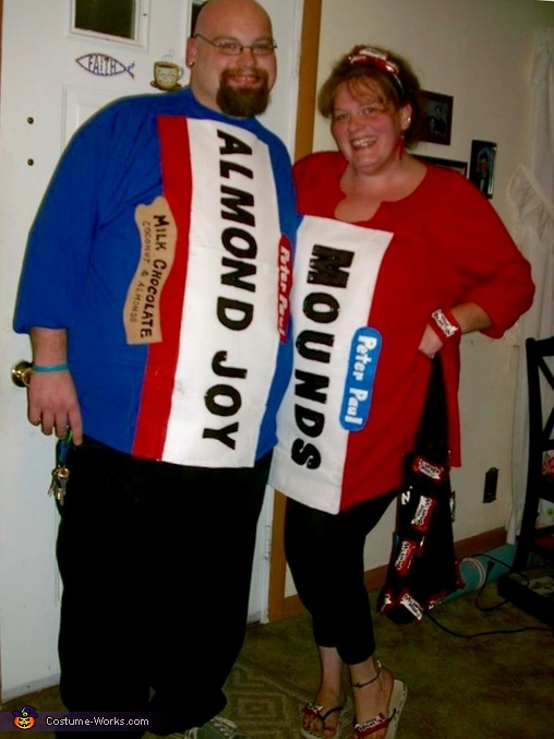 Front of the costume , Inappropriate Candy Costume