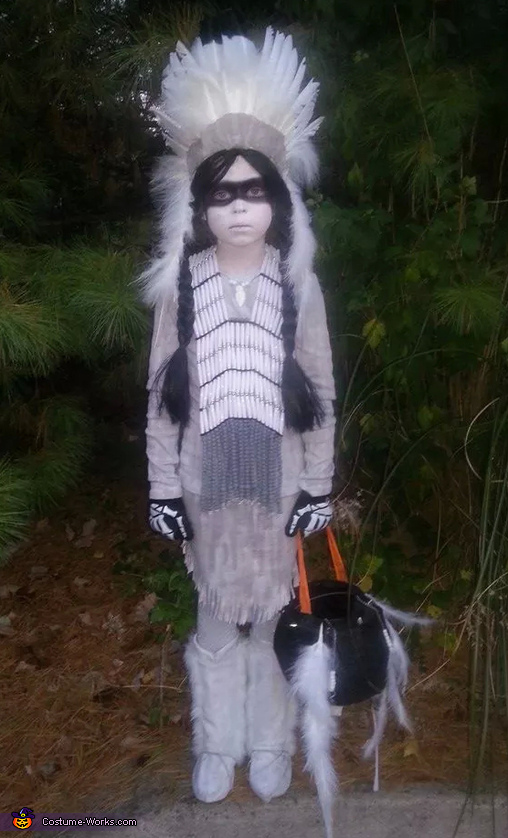 Indian Ghost Costume