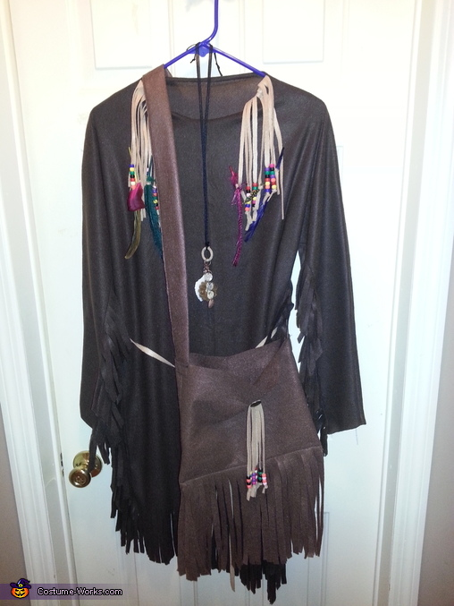dress and purse, Indian Princess Costume