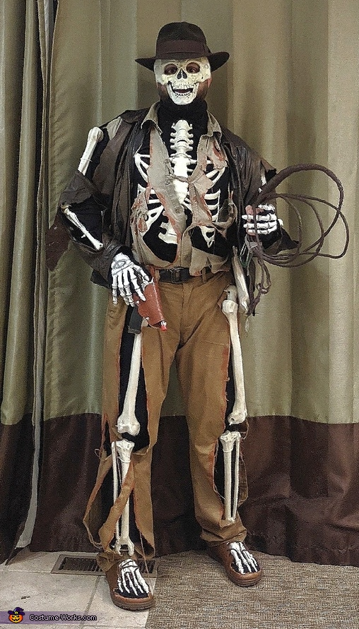 Indiana Bones Costume
