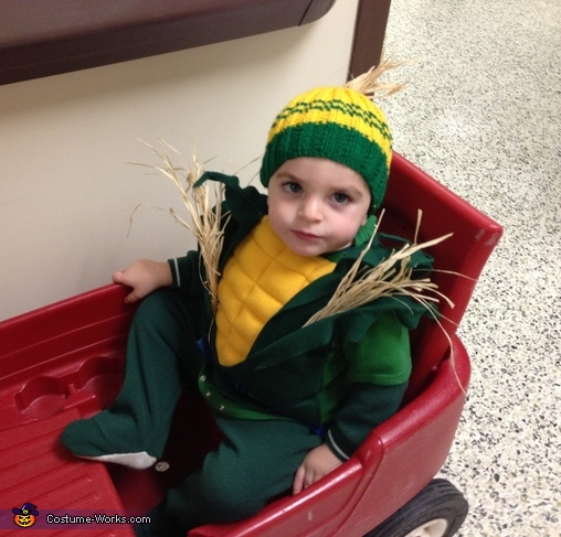 Indiana Corn Baby Costume