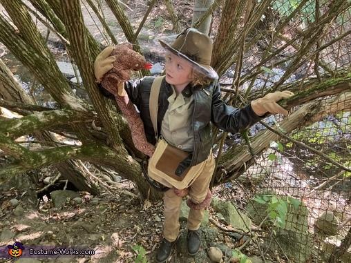 Indiana Jones Homemade Costume