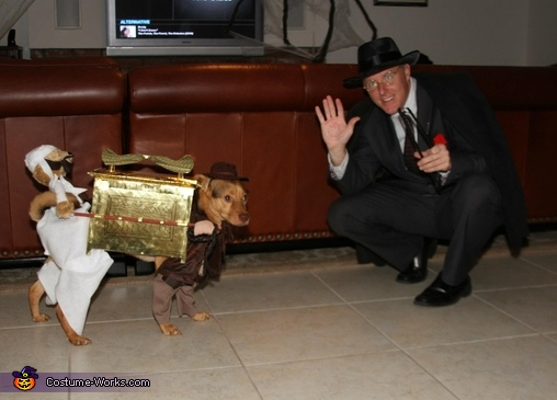 Indy, Sallah, and Nazi Toht, Indiana Jones and the Raiders of the Lost Ark Costume