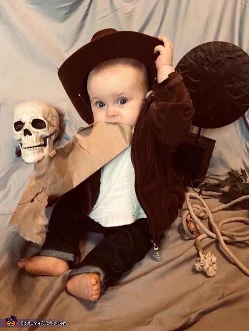 Indiana Jones Baby Homemade Costume