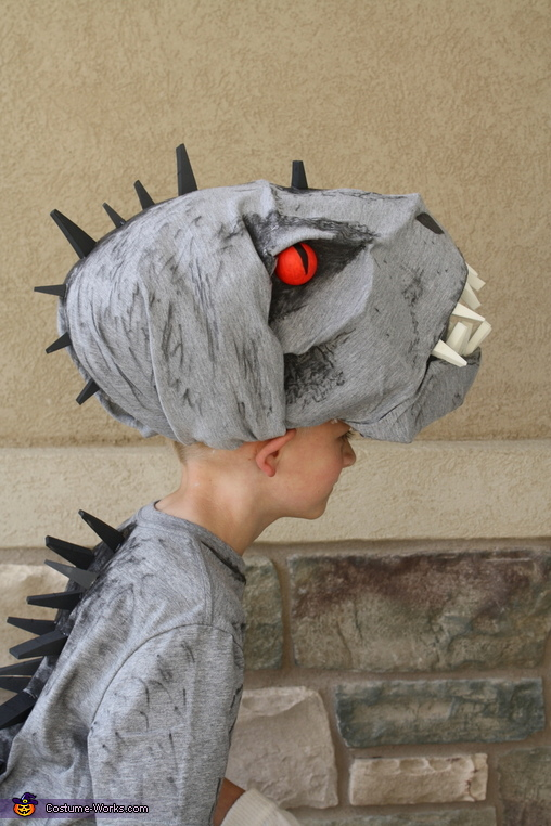 Picture of the Head, Indominus Rex Costume