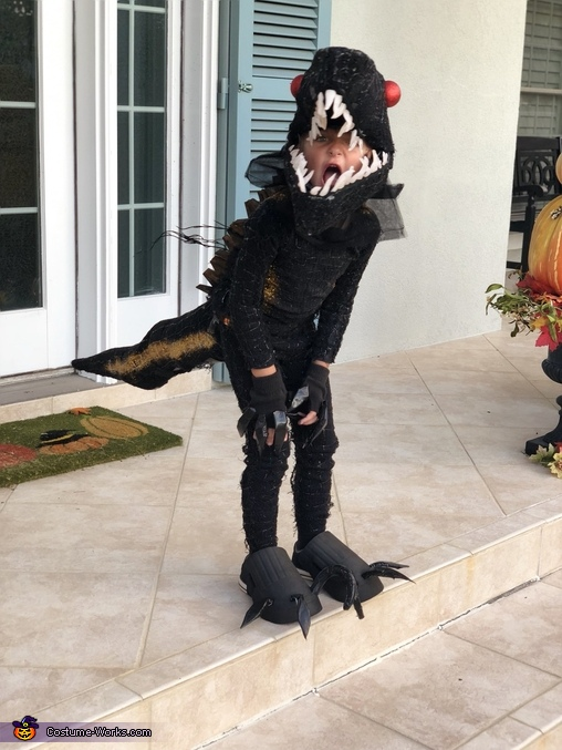 Indoraptor Homemade Costume