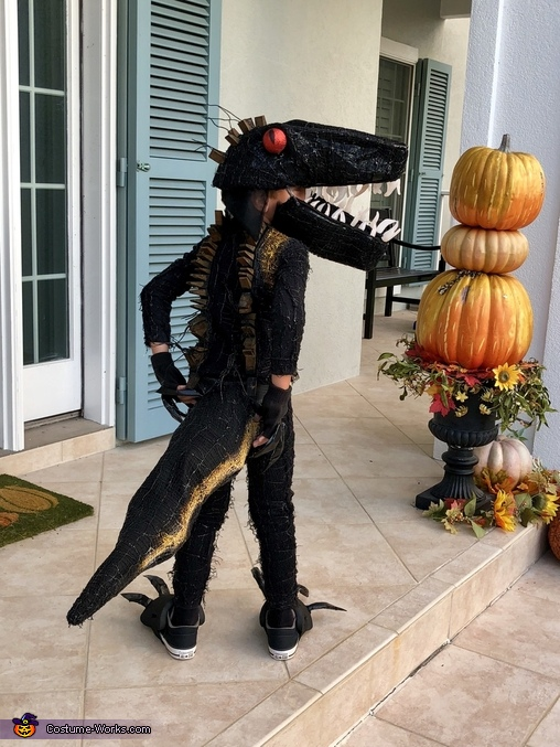 Indoraptor Homemade Costume