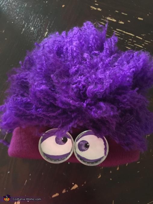 Beanie, Infant Purple Minion Costume