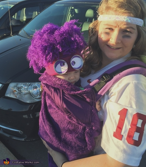 Infant Purple Minion Costume