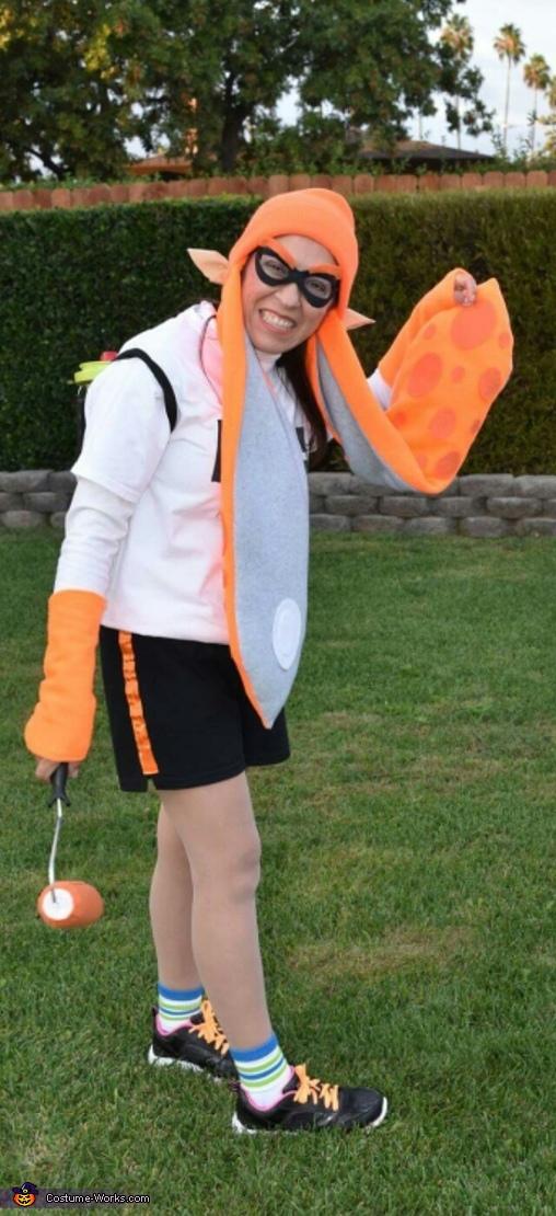 Inkling Girl Costume