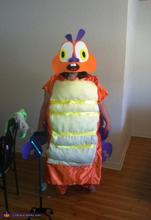 Insectosaurus Homemade Costume