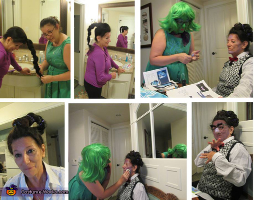 Fear getting made up, Inside Out Costume