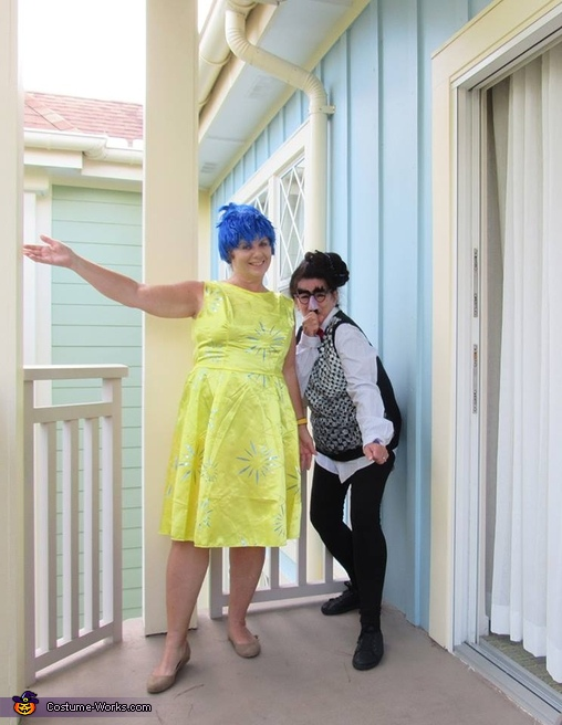 Joy and Fear, Inside Out Costume