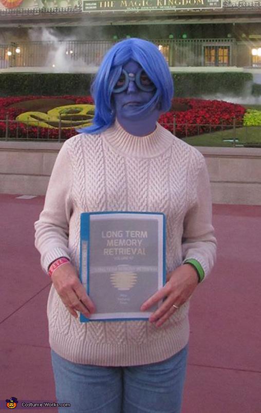 Sadness at Magic Kingdom, Inside Out Costume