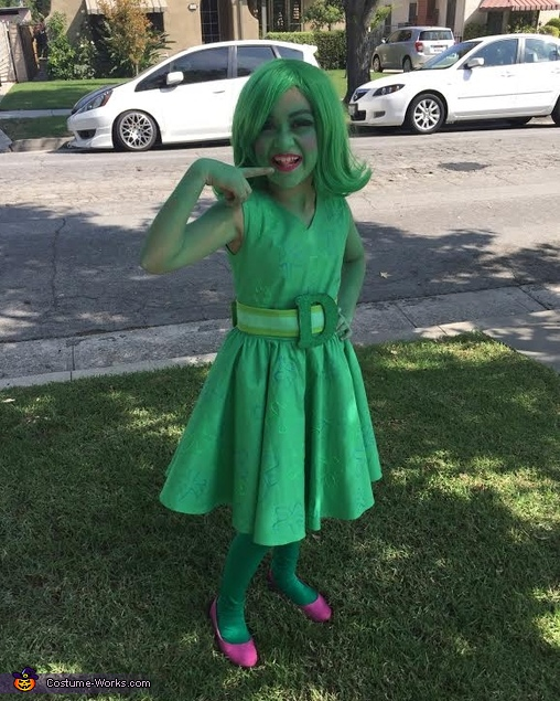 Inside Out Disgust Homemade Costume