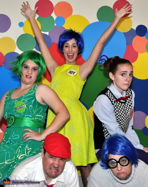 Feelings!, Inside Out Emotional Family Costume