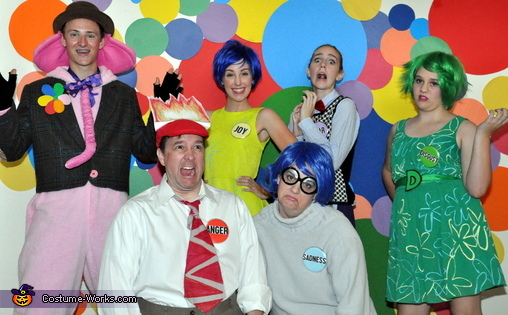 A Mix of Emotions!, Inside Out Emotional Family Costume