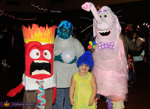 Inside Out Costume Ideas   Inside out costume, Disney