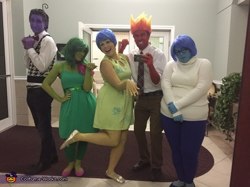 We've got all the feels with Inside Out, Inside Out Family Costume