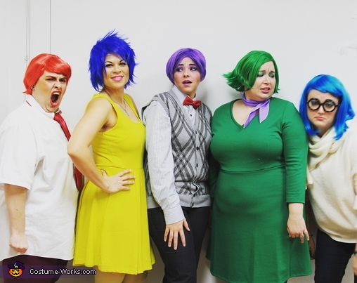 Inside Out Group Homemade Costume