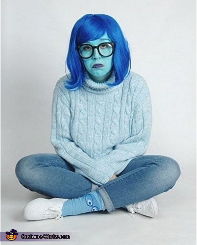 Inside Out Sadness Costume