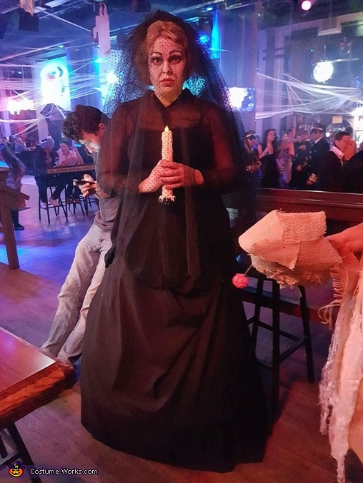 Insidious Black Bride Costume