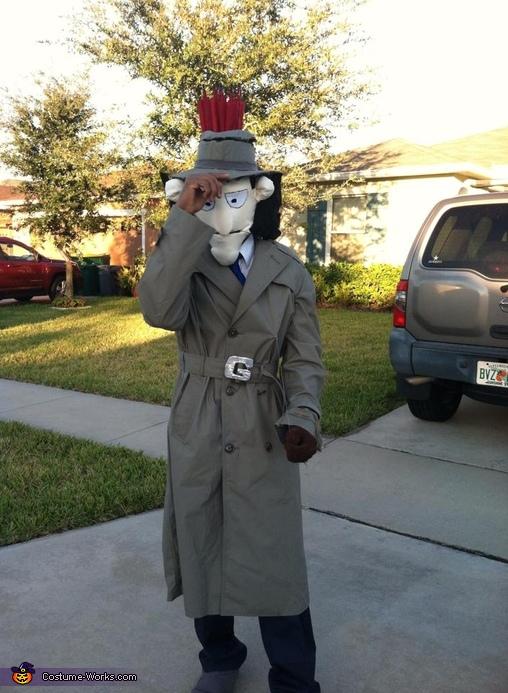 go go gadget coptor, Inspector Gadget Costume