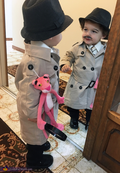 Inspector Jacques Clouseau Homemade Costume