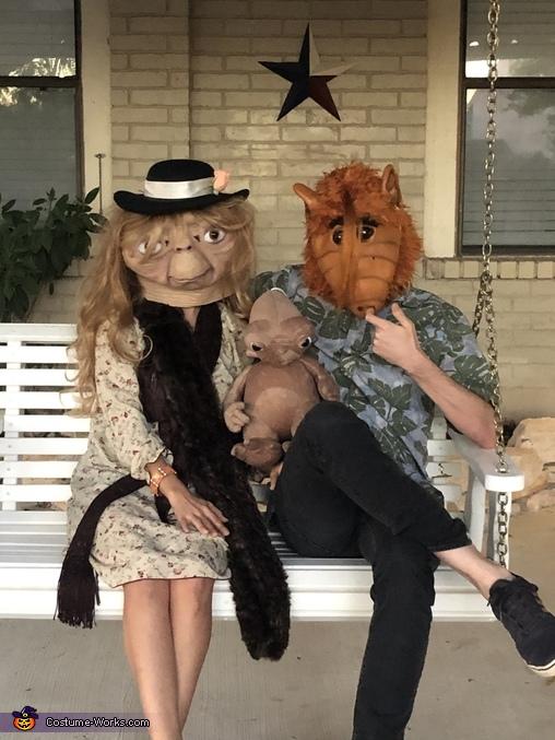 Interspecies Alien Couple Costume