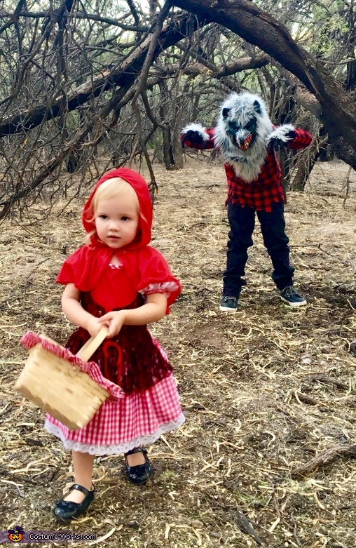 Into The Woods Little Red Riding Hood And The Big Bad Wolf