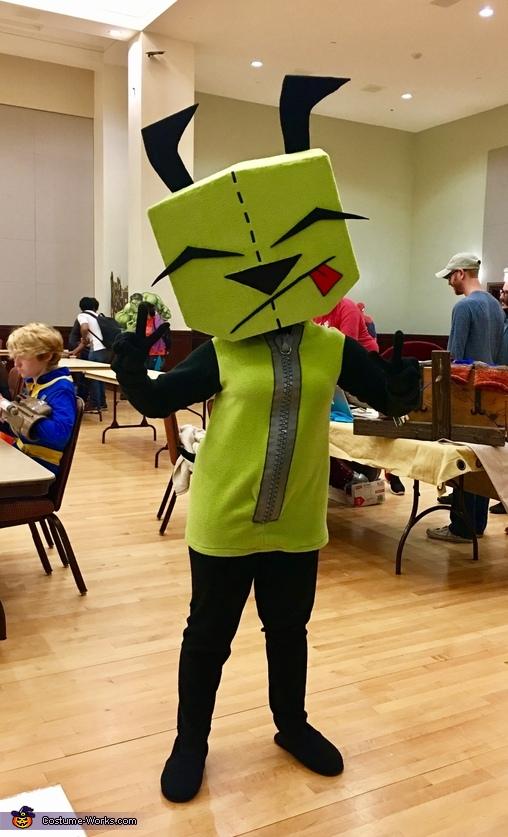 Invader Zim Gir Costume