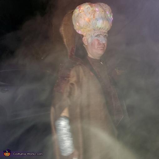Big brain,  some affect, Invasion 2020 Costume