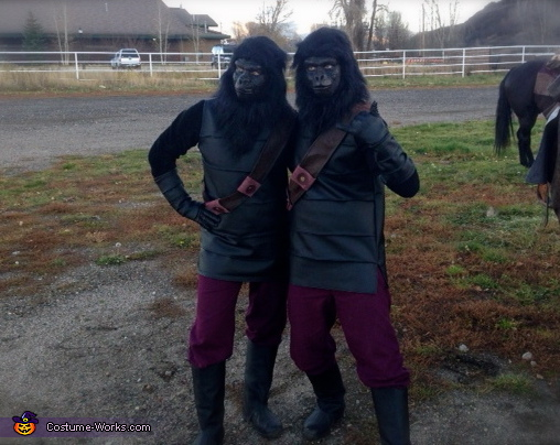 Invasion of Planet of the Apes Homemade Costume