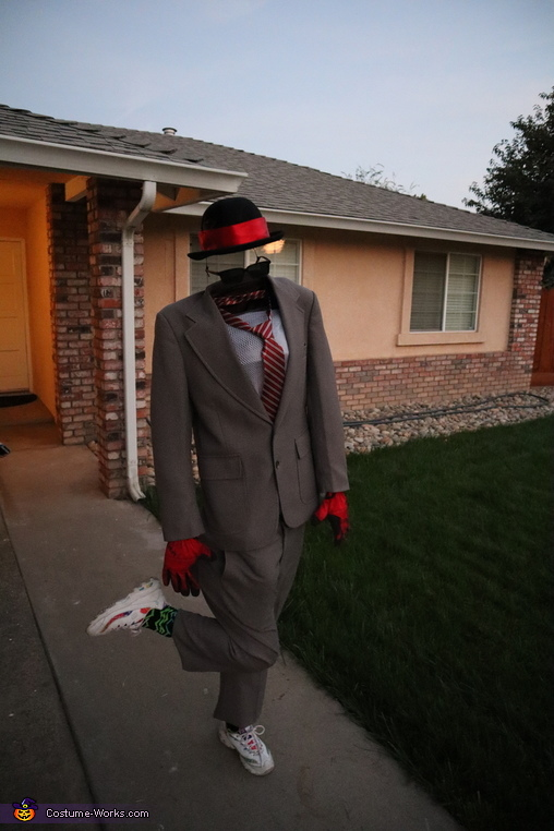 Invisible man, Invisible Man Costume