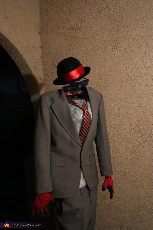 Invisible man, Invisible Man Costume