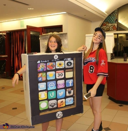 iPad Homemade Costume