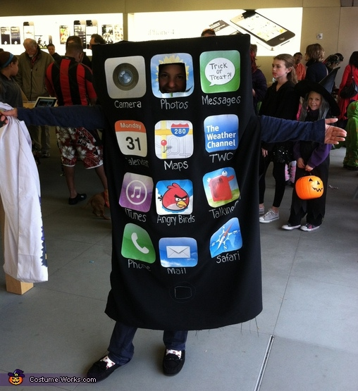 iPhone - Homemade costumes for kids