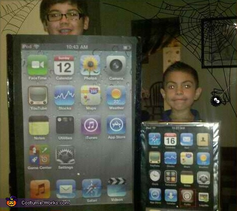 iPod & iPhone Costumes