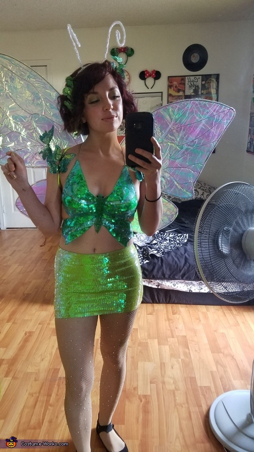Iridescent Butterfly Costume