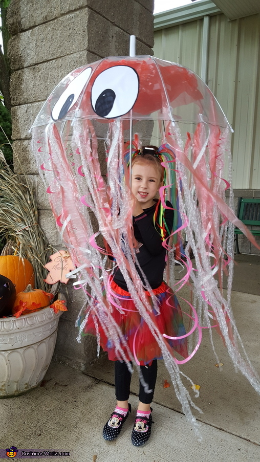 Bella the Jellyfish, Iridescent Jellyfish Costume