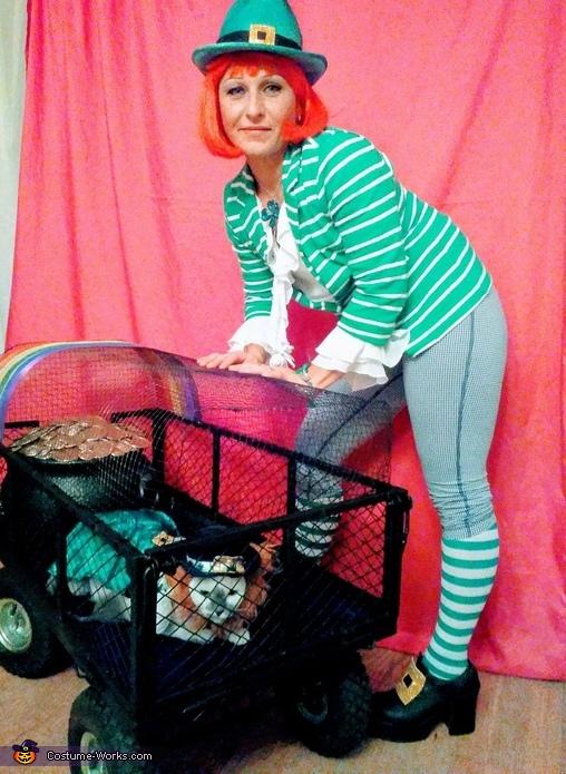 Irish Girl and Trapped Leprechaun Costume