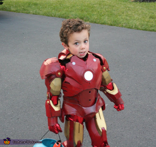 Iron Man Boy's Costume